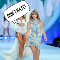 Taylor Swift got slagged off by a Victoria's Secret model... it's The Dredge