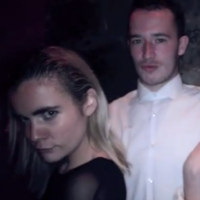Hipster Dublin club night attendees pose awkwardly for photos that are in fact videos