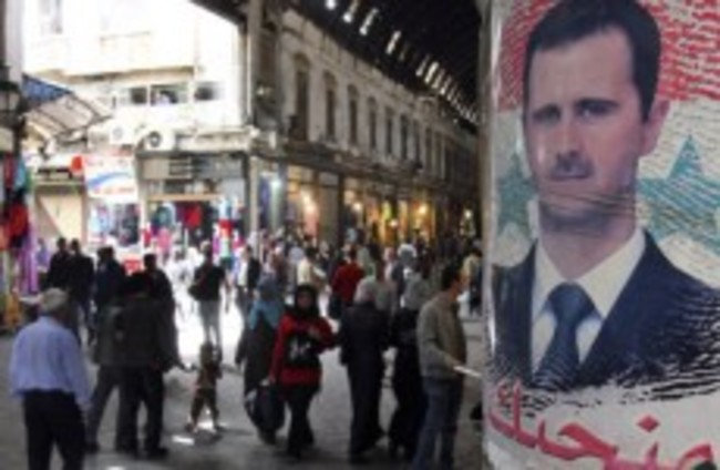 32 reported dead after anti-government protests turn violent in Syria