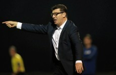 Roddy Collins is back...as manager of Derry City