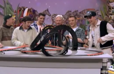 Revisit Boyzone's mortifying appearance on the 1994 Toy Show
