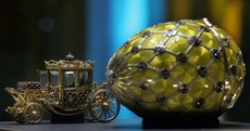 Russian billionaire's €60 million Fabergé egg collection goes on display