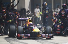 Red Bull claim this was the fastest F1 pit stop ever