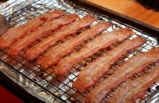 Man breaks restaurant door over overpriced bacon