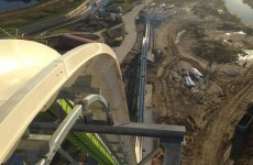 Check out the terrifying view from the world's tallest water slide