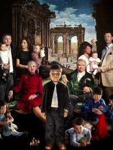 5 questions about the Danish royal family's terrifying new portrait