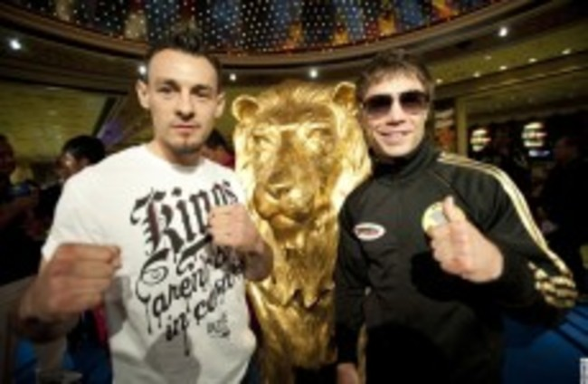 Expect fireworks as brave duo meet in Vegas