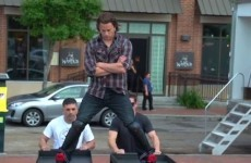 Watch Channing Tatum take on Jean-Claude Van Damme's epic split