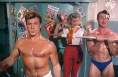 How to join a gym... 1950s and '60s-style