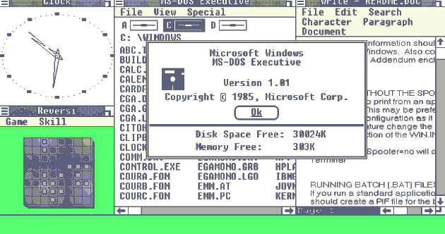 Microsoft Windows was launched 28 years ago today, and here's how it looked