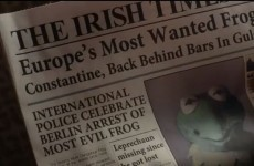 The Irish Times features in the new Muppets film trailer