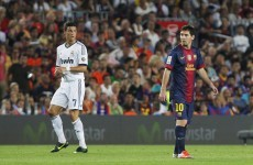 Messi lauds Ronaldo's goal-scoring power