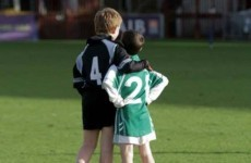 Two youngsters give us a reminder of true sportsmanship at schools GAA finals