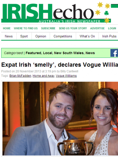 Vogue's 'smelly Irish' controversy explained