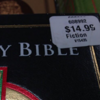 US retailer says sorry for labelling the Bible 'fiction'