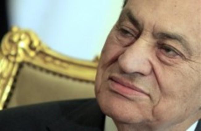 Mubarak makes first public statement, denies abuse of power