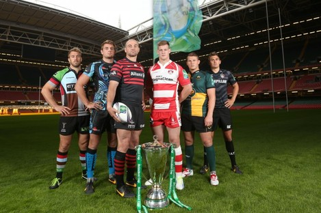 Chris Robshaw (Harlequins) Dean Mumm (Exeter Chiefs)Steve Borthwick (Saracens) Tom Savage (Gloucester) Dylan Hartley (Northampton) and Toby Flood (Leicester).