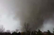 Man films terrifying video of tornado devastating his house and neighbourhood