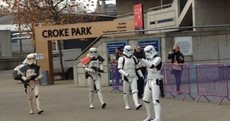 So... why are there Stormtroopers outside Croke Park?