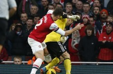 VIDEO: Olivier Giroud strike following goalkeeping howler helps Arsenal to victory