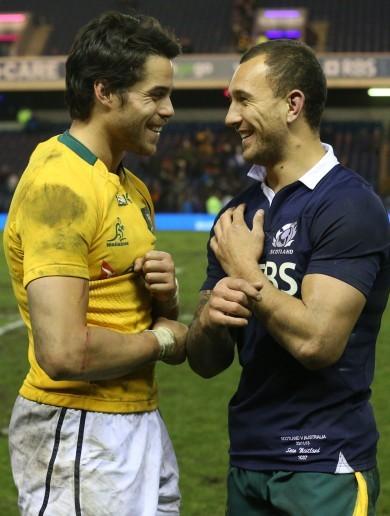 Snapshot: Cousins Cooper and Maitland trade international jerseys