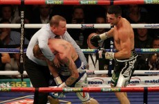 Rematch on the cards after Groves 'unjustly' stopped