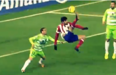 Diego Costa scored a gravity-defying overhead kick last night