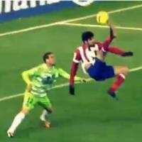Diego Costa scored a gravity-defying overhead kick last night