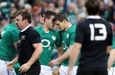 Player ratings: How Ireland fared in today's clash with New Zealand