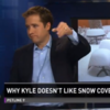 """""""It's time we had a talk..."""": Colorado news anchor is sick of viewers' patio snow photos"""