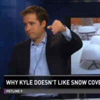 """It's time we had a talk..."": Colorado news anchor is sick of viewers' patio snow photos"
