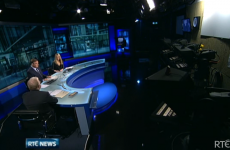 Blunder on Six One news reveals how tiny the studio actually is