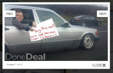 These Limerick lads sure know how to sell a car