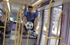 VIDEO: Irish freestyle champion takes his amazing skills around Dublin city