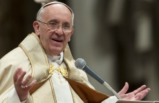 How should the Pope do his job? He wants you to tell him