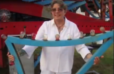Woman renews marriage vows with ferris wheel on American TV show