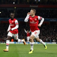 Early bird Wilshere takes Arsenal to brink of last 16