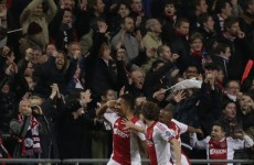 Ajax fan seriously injured during Barcelona game
