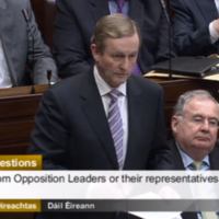 Taoiseach: Name a predecessor of mine who took time to talk to homeless people?