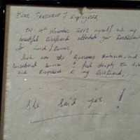 Dublin restaurant seeks couple who left heartwarming engagement note
