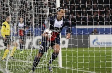 Zlatan scores his EIGHTH as PSG book place in the last 16