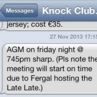 Cavan GAA club take steps to ensure AGM starts on time to avoid Late Late Toy Show clash