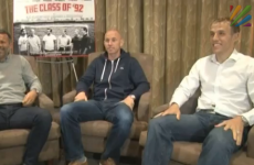 United's Class of 92 discuss winning the treble and Hansen's infamous remark