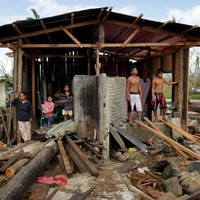Rain puts 'fear in the eyes of children' in the Philippines