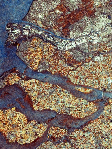 Urban beauties: Incredible view of cities from space