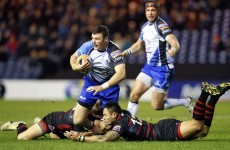 Connacht suffer heavy Pro12 defeat in Edinburgh