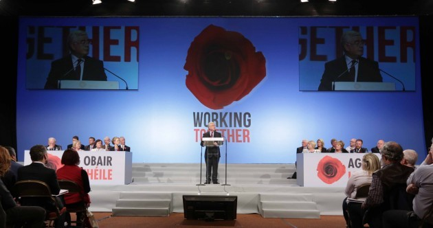 Burton hopes voters will reward Labour next year as day two of conference gets underway