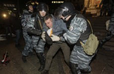 'Dozens' wounded as Ukraine police break up rally