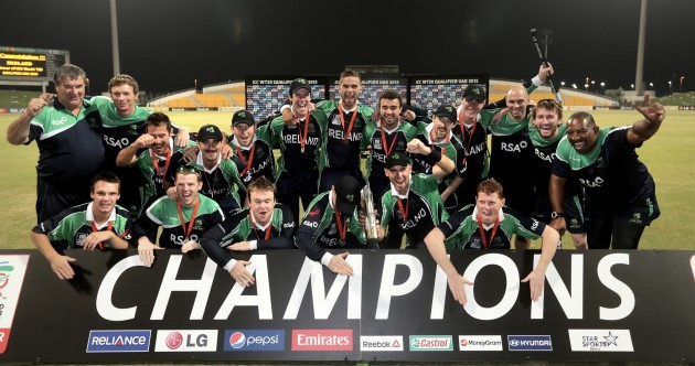 Ireland win World Twenty20 qualifier final in impressive style
