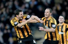 Meyler on target as Tigers maul Liverpool